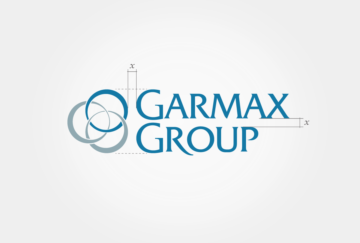 Garmax Logo construction