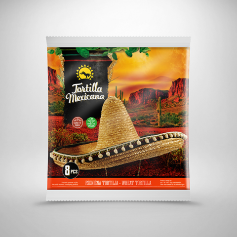 Packagin design - Tortilla Mexicana