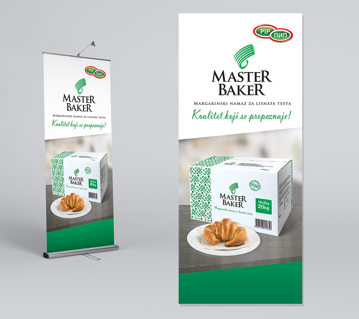 Master Baker Roll up design